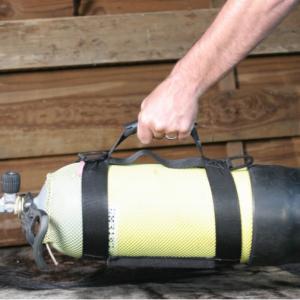 Scuba cylinder sling