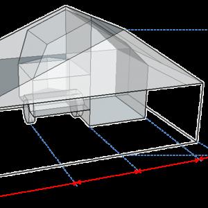 Awning replacement for flysheet (270')