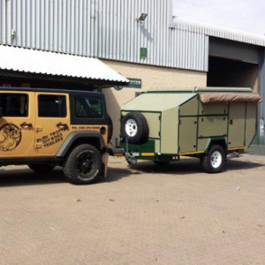 Read more about the article Bosvark 4X4 Camping Trailer